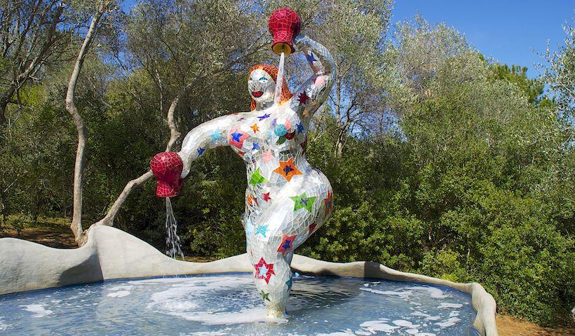 Facebook social slider - Niki de saint phalle le jardin des tarots ...
