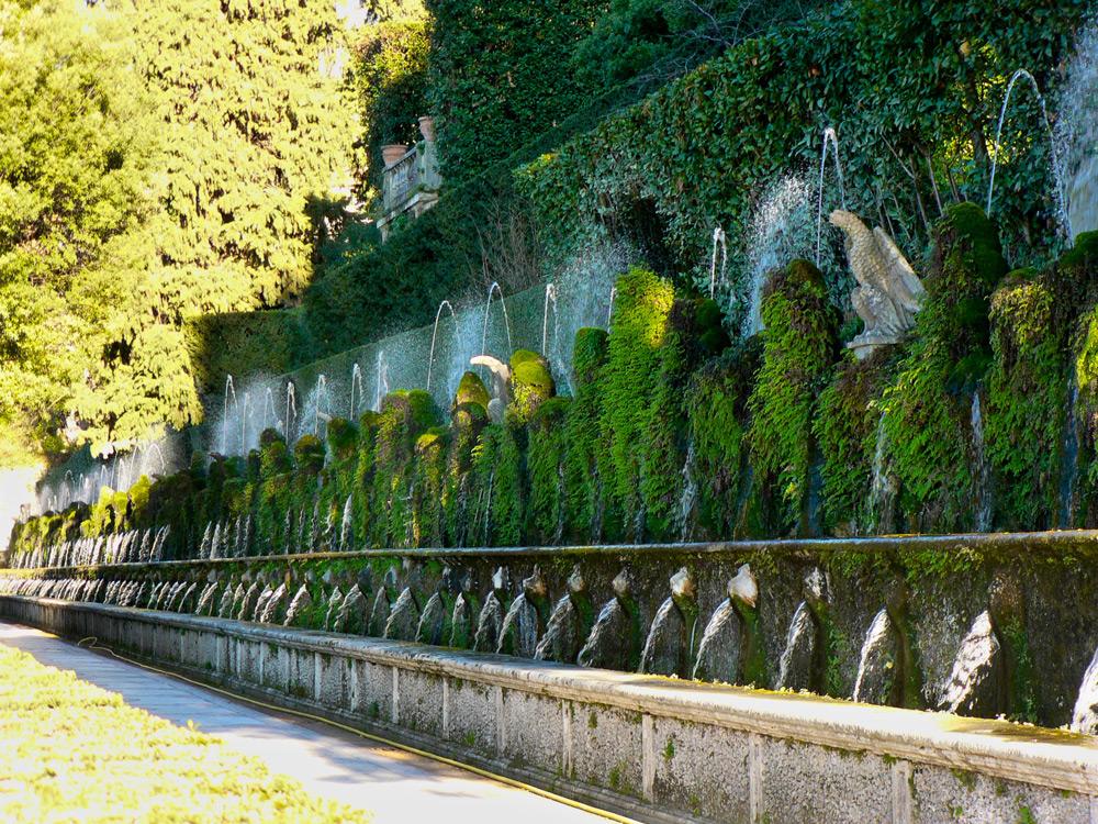 Aux sources du jardin a la francaise for Jardin villa d este