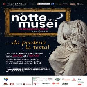 19 maggio, la notte dei musei a Roma