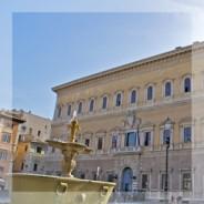 Visite, cocktail et concert au palais Farnese !