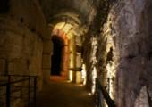 Souterrains du Colisée – arène – 3ème anneau