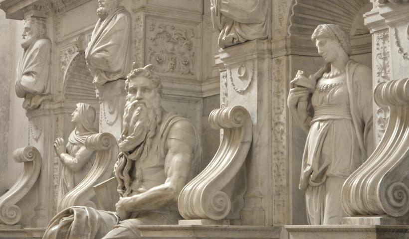 Hommage A Vinci Raphael Et Michel Ange More