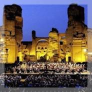 Saison estivale de l'opéra aux thermes de Caracalla